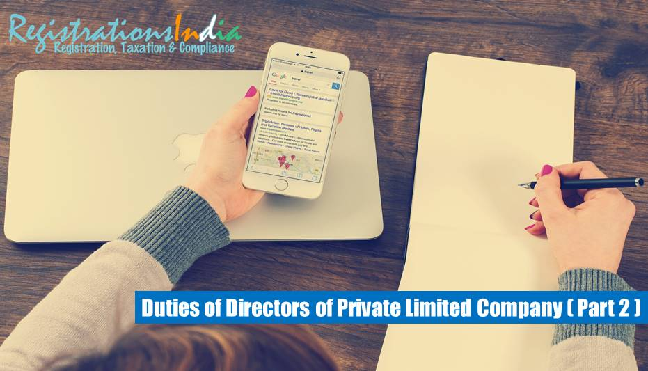 DUTIES OF DIRECTORS OF PRIVATE LIMITED COMPANY Part 2 image