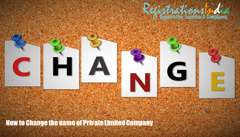 How to change the name of a Private Limited Company Image