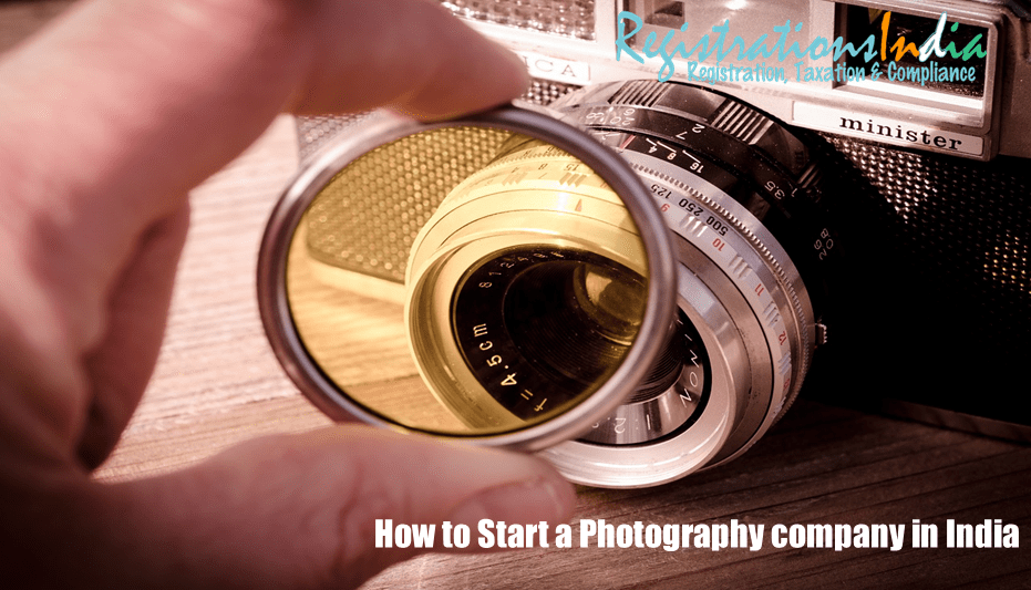 How to start a photography company in India image