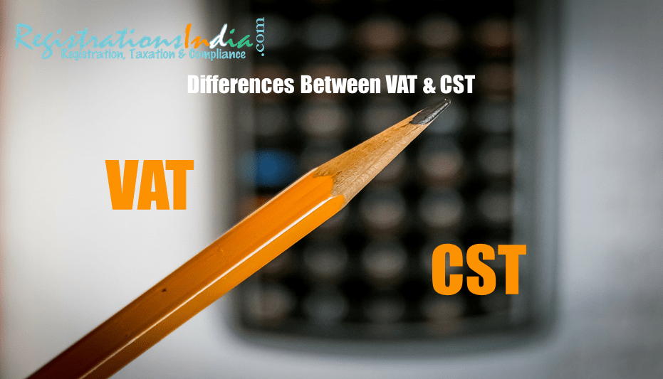 Difference Between VAT and CST image