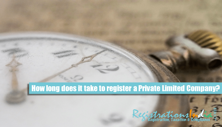 How long does it take to register a Private Limited Company image