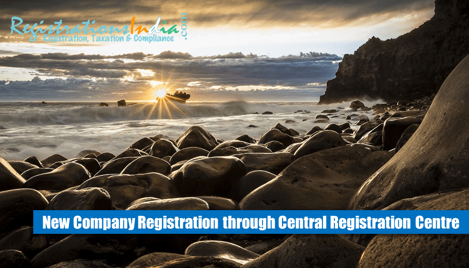 New company registration through central registration centre image