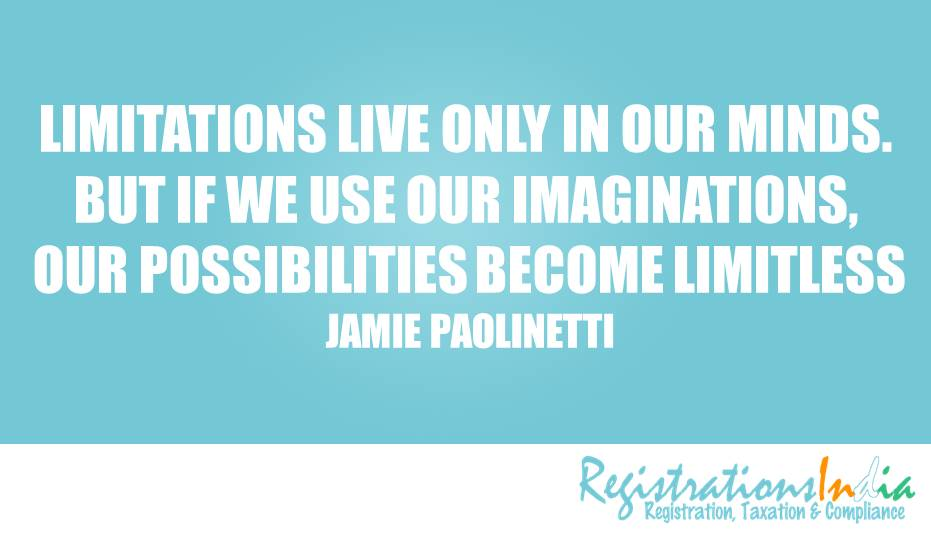 Limitations Live Only In Our Minds