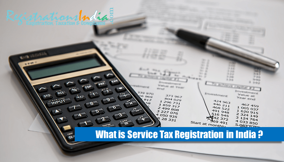 What is Service Tax Registration in India