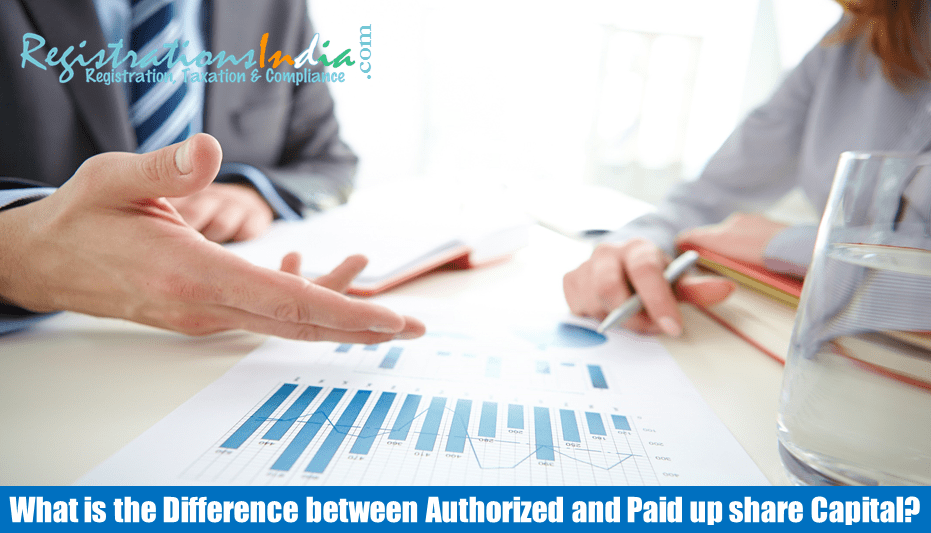 Difference Between Authorized and Paid up Share Capital