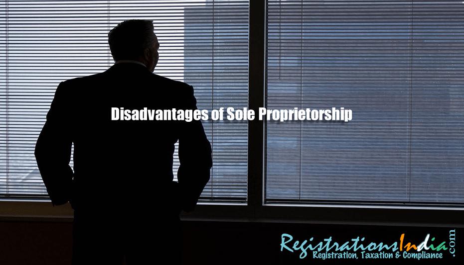 Disadvantages of Sole Proprietorship image