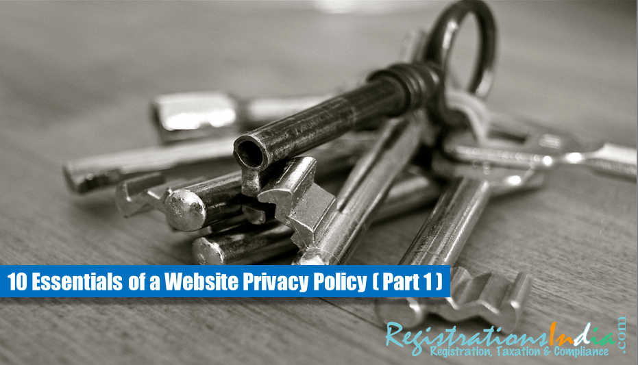 Essentials of a Website Privacy Policy image