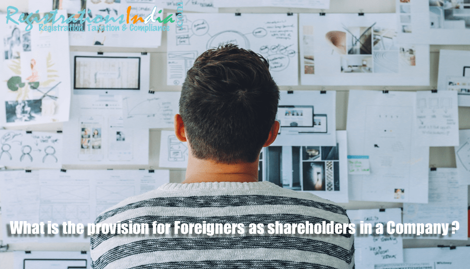 Provision for Foreigners as Shareholders in a Company image