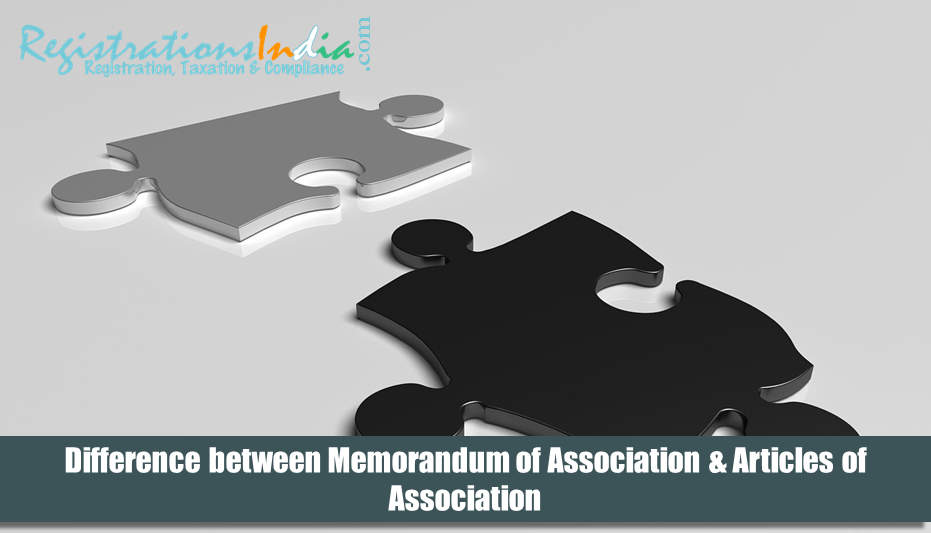 Difference between Memorandum of Association & Articles of Association image