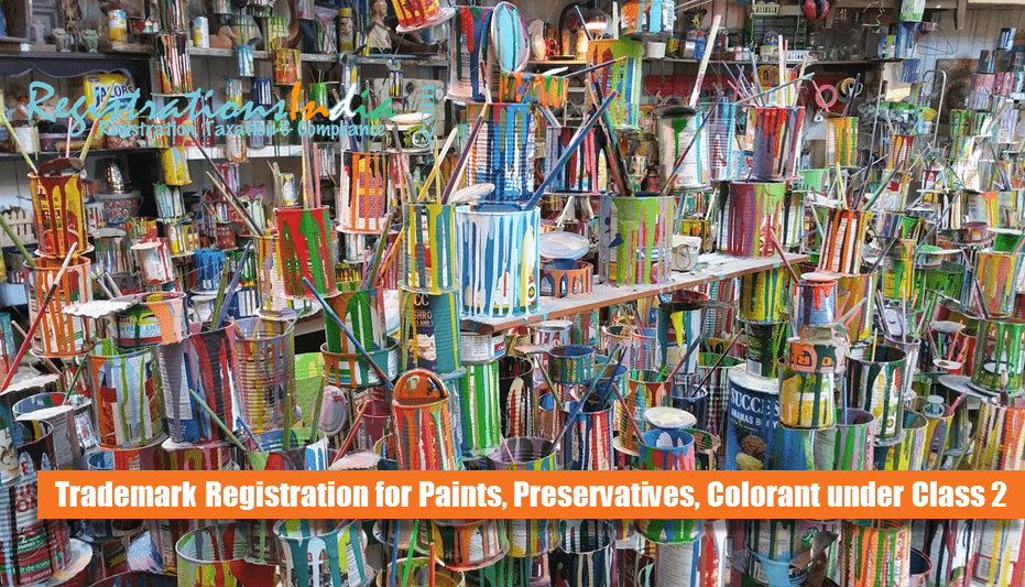 How to Register Trademark for Paints, Preservatives Under Class 2 image