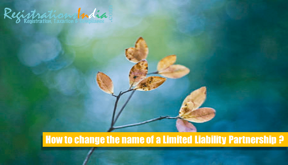 How to Change the Name of LLP