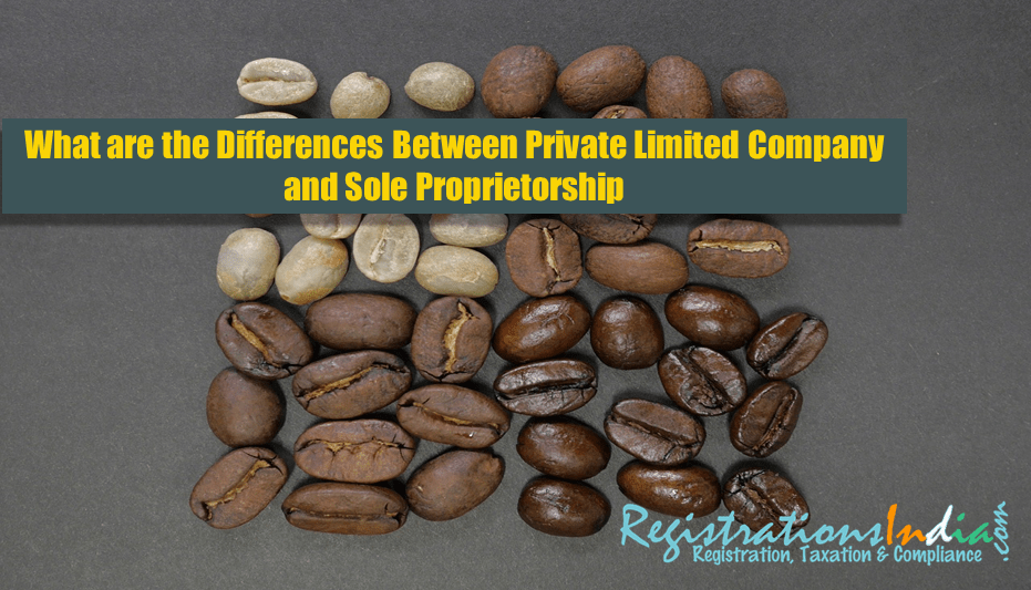 Differences Between Private Limited Company and Sole Proprietorship