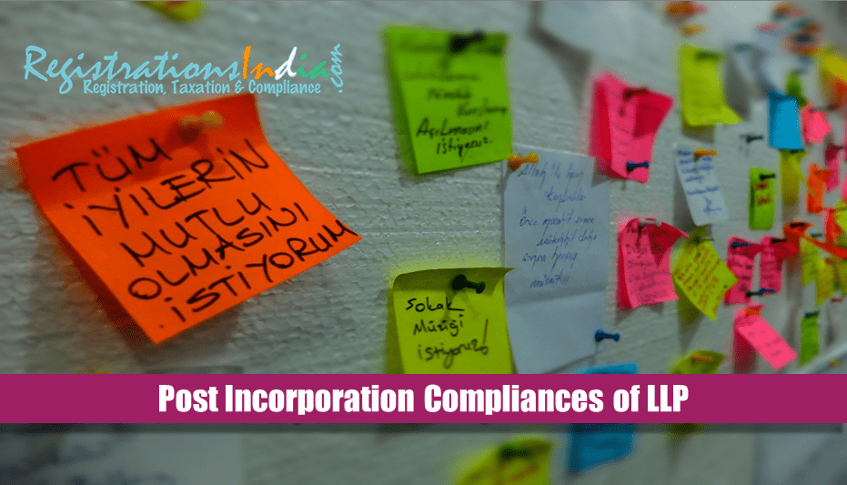 Post Incorporation Compliances of LLP