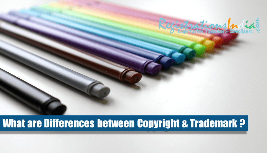 What are Differences Between Copyright & Trademark?