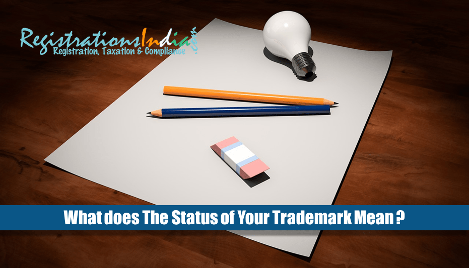 What does the status of your trademark mean?