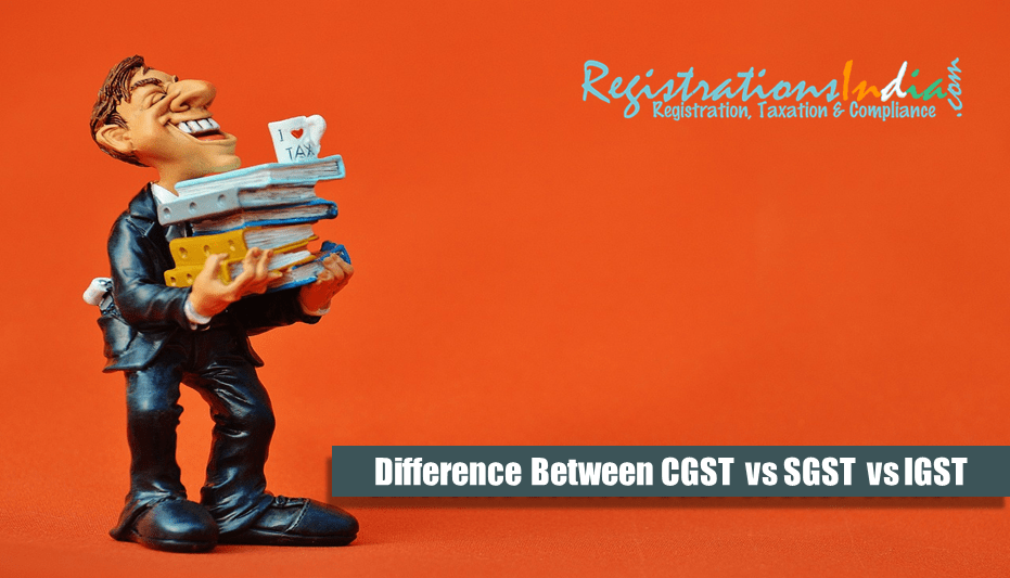 Difference Between CGST, SGST and IGST