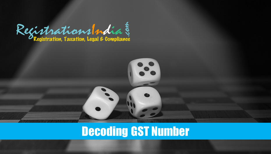 Decoding GST Number
