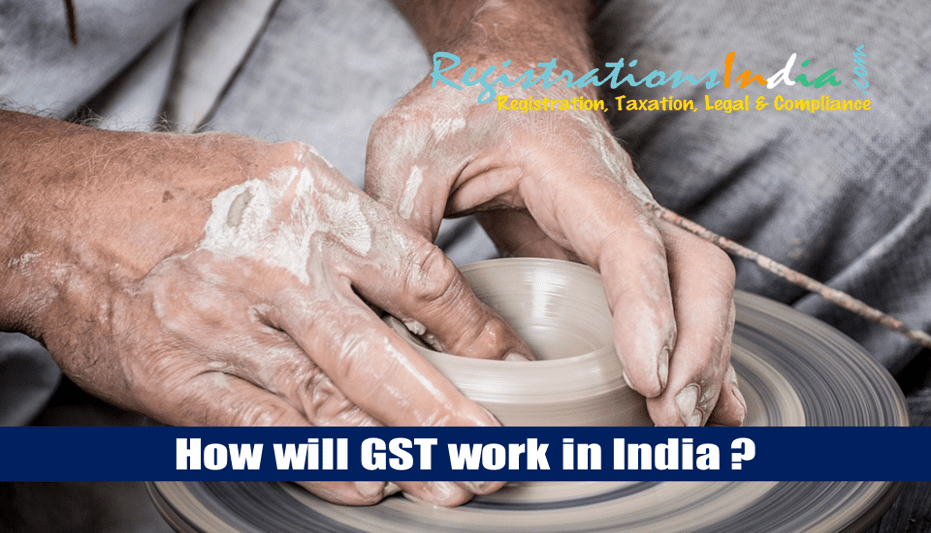 how will gst work in india